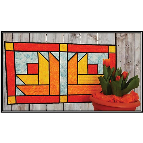 Stained Glass Tulips by Kris Holderness