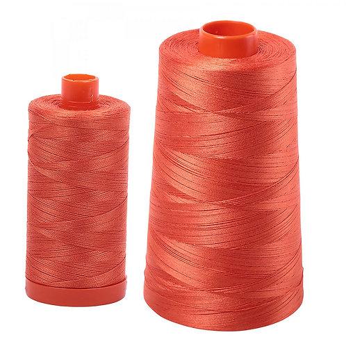 Aurifil Cotton Thread 50wt Dusty Orange 1154