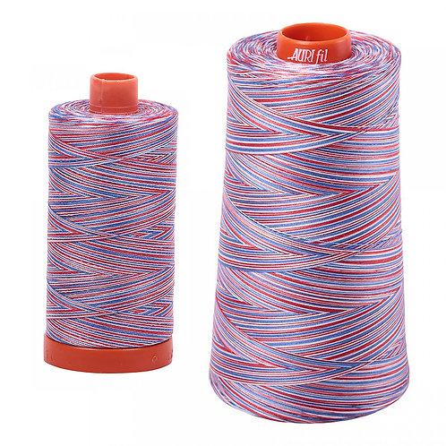 Aurifil Cotton Thread 50wt Variegated Liberty 3852
