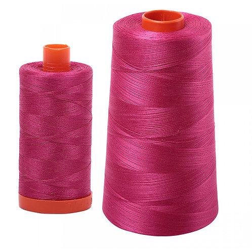 Aurifil Cotton Thread 50wt Red Plum 1100