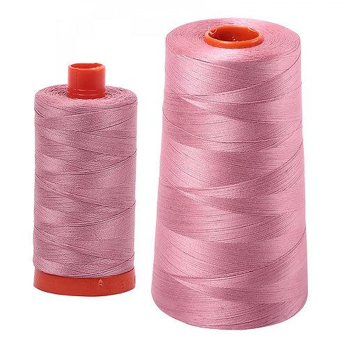 Aurifil Cotton Thread 50wt Victorian Rose 2445