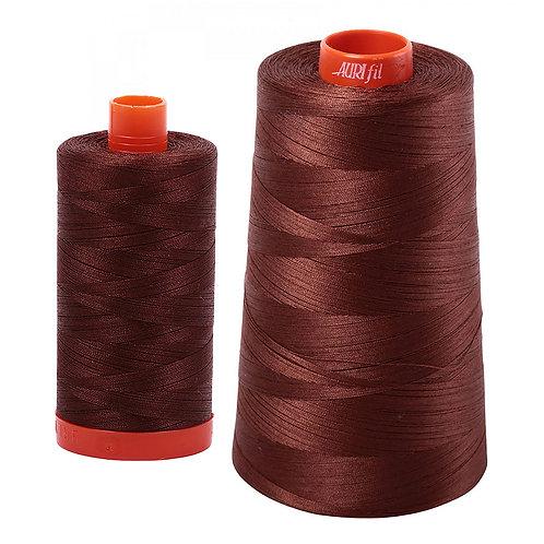 Aurifil Cotton Thread 50wt Chocolate 2360
