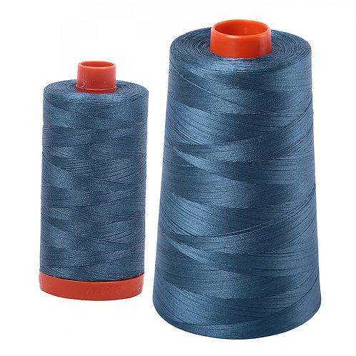 Aurifil Cotton Thread 50wt Smoke Blue 4644