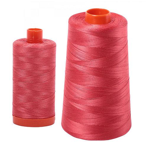 Aurifil Cotton Thread 50wt Medium Red 5002