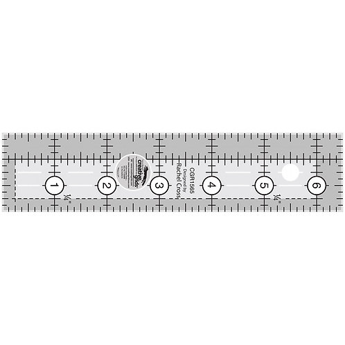 Creative Grids Quilt Ruler 1-1/2in x 6-1/2in