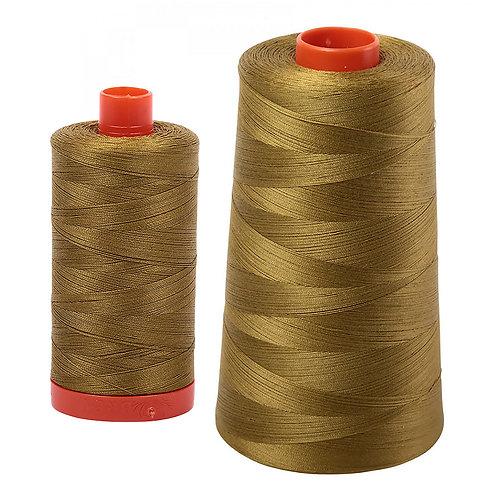 Aurifil Cotton Thread 50wt Medium Olive 2910