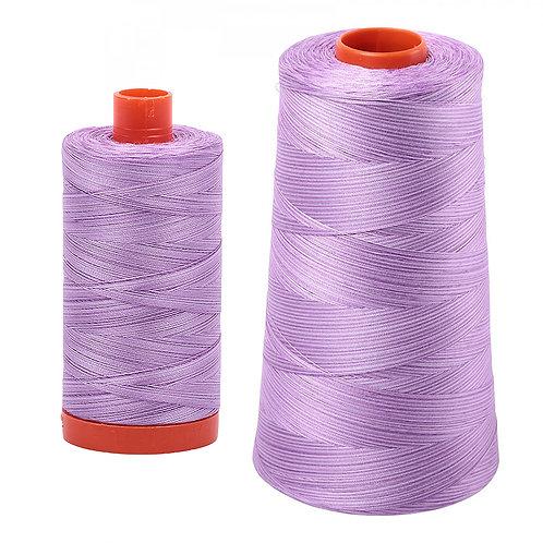 Aurifil Cotton Thread 50wt Variegated French Lilac 3840