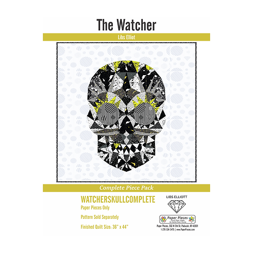 The Watcher Paper Piecing Kit by Libs Eliot