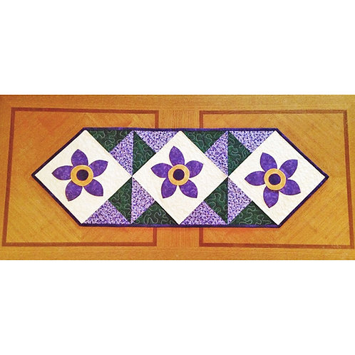 Floral Whimsy Tablerunner by Cathey Laird