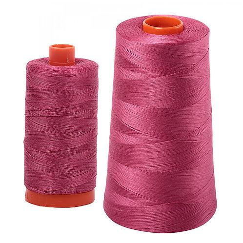 Aurifil Cotton Thread 50wt Medium Carmine Red 2455