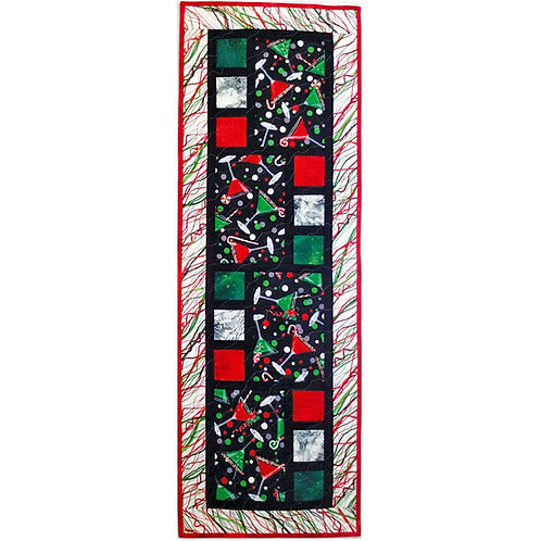 All Squared Up Table Runner by Cathey Laird