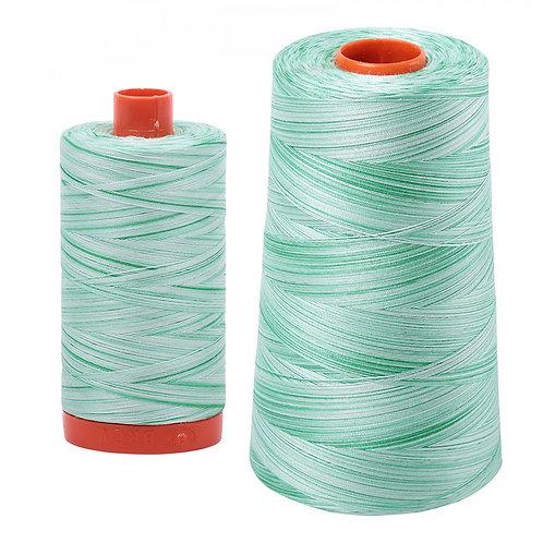 Aurifil Cotton Thread 50wt Variegated Mint Julep 4661
