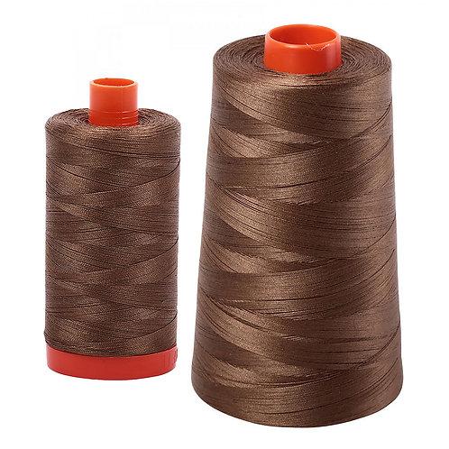 Aurifil Cotton Thread 50wt Dark Sandstone 1318