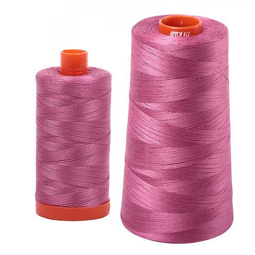 Aurifil Cotton Thread 50wt Dusty Rose 2452