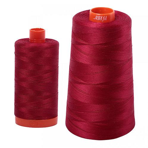 Aurifil Cotton Thread 50wt Red Wine 2260