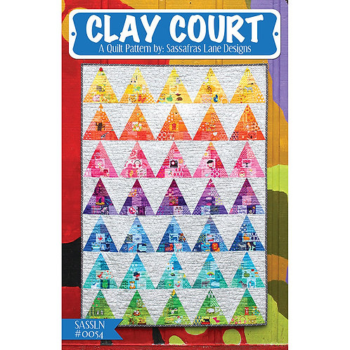 Clay Court Quilt by Sassafras Lane Designs