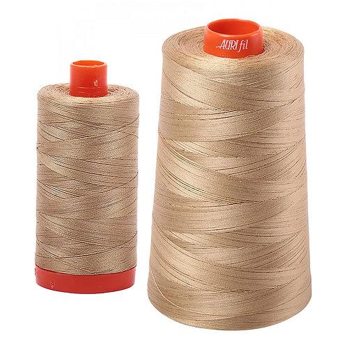 Aurifil Cotton Thread 50wt Blond Beige 5010