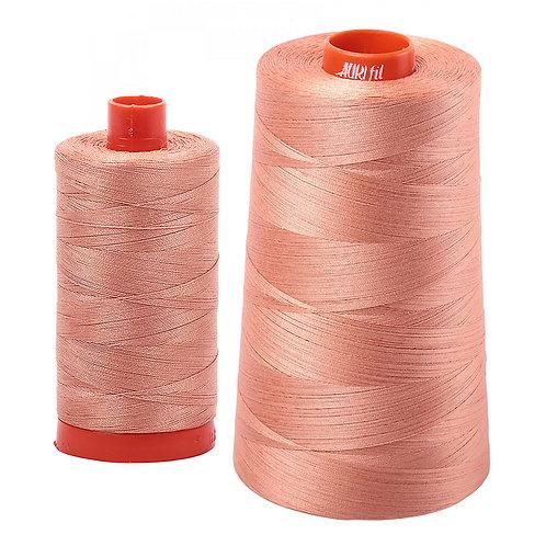 Aurifil Cotton Thread 50wt Peach 2215