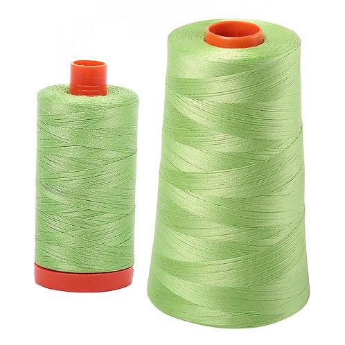 Aurifil Cotton Thread 50wt Shining Green 5017