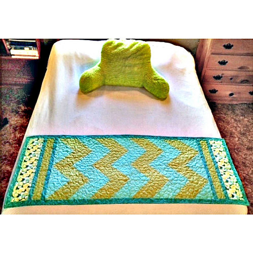 Mod Chevron Bed or Table Runner by Cathey Laird