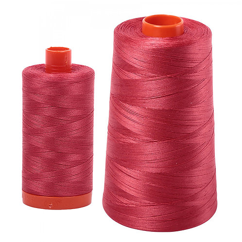 Aurifil Cotton Thread 50wt Red Peony 2230
