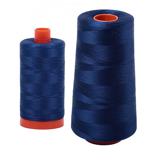 Aurifil Cotton Thread 50wt Dark Delft Blue 2780