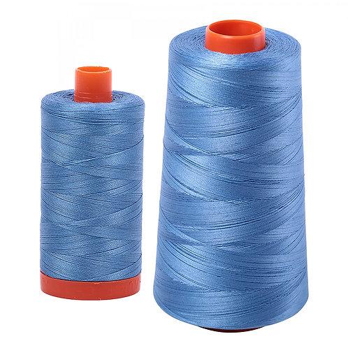 Aurifil Cotton Thread 50wt Light Wedgewood 2725