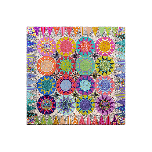 TULA SUNRISE Paper Piecing EPP and Templates by Tula Pink