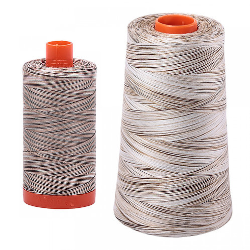 Aurifil Cotton Thread 50wt Variegated Nutty Nougat 4667