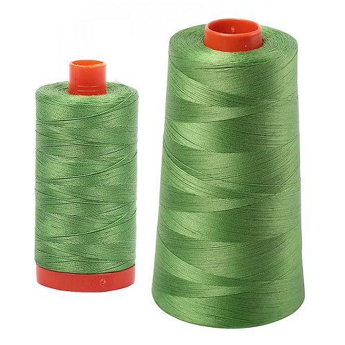 Aurifil Cotton Thread 50wt Grass Green 1114