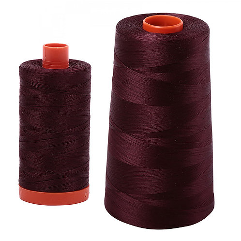 Aurifil Cotton Thread 50wt Dark Wine 2468