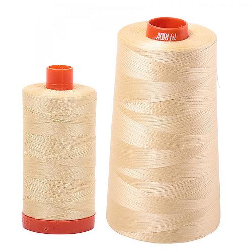 Aurifil Cotton Thread 50wt Champagne 2105