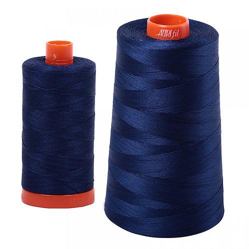 Aurifil Cotton Thread 50wt Dark Navy 2784