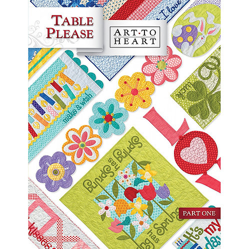 Table Please Part One Softcover by Art to Heart