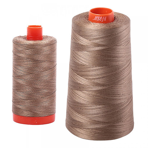Aurifil Cotton Thread 50wt Sandstone 2370