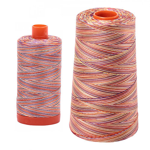 Aurifil Cotton Thread 50wt Variegated Desert Dawn 4648