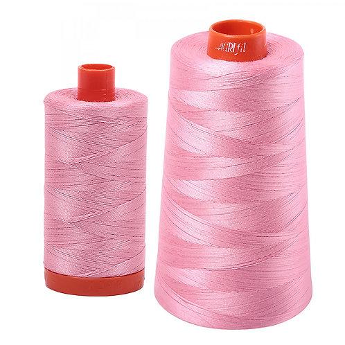 Aurifil Cotton Thread 50wt Bright Pink 2425