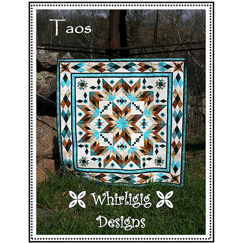 Taos Quilt by Whirligig Designs