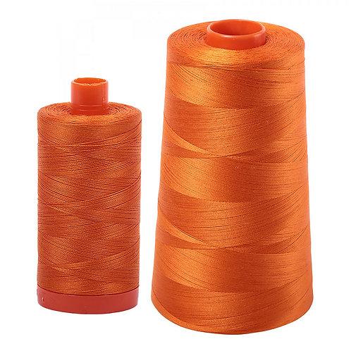 Aurifil Cotton Thread 50wt Pumpkin 2150