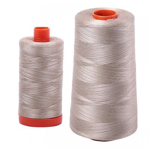 Aurifil Cotton Thread 50wt Rope Beige 5011