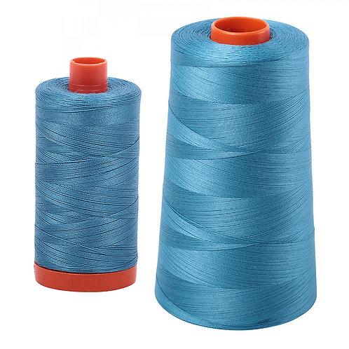 Aurifil Cotton Thread 50wt Teal 2815