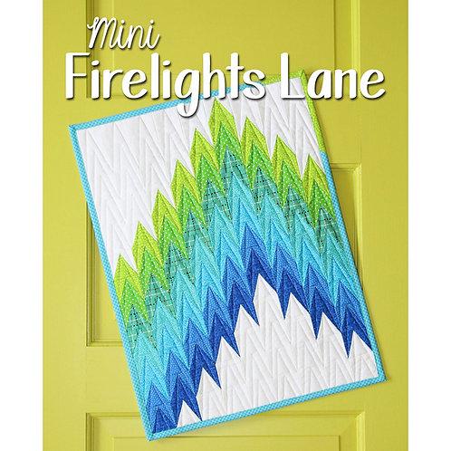 Mini Firelights Lane Quilt by Sassafras Lane Designs