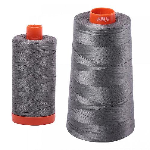 Aurifil Cotton Thread 50wt Grey Smoke 5004