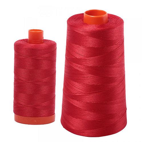 Aurifil Cotton Thread 50wt Lobster Red 2265