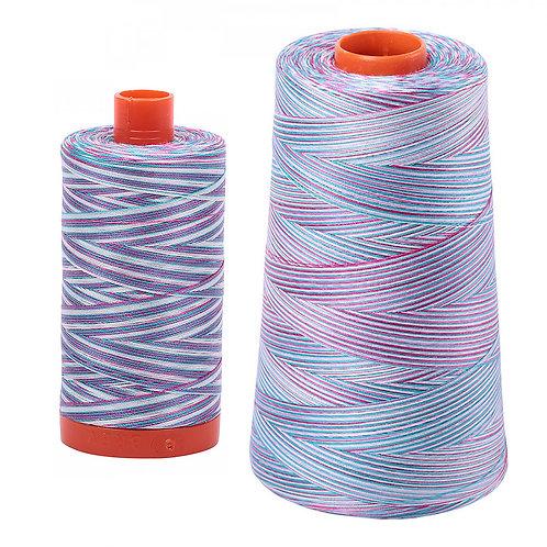 Aurifil Cotton Thread 50wt Variegated Berrylicious 4647