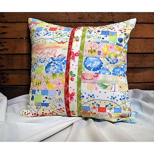 Beginner Rotary Cutter Pillow by Debra Zellner