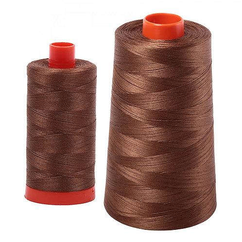 Aurifil Cotton Thread 50wt Dark Antique Gold 2372
