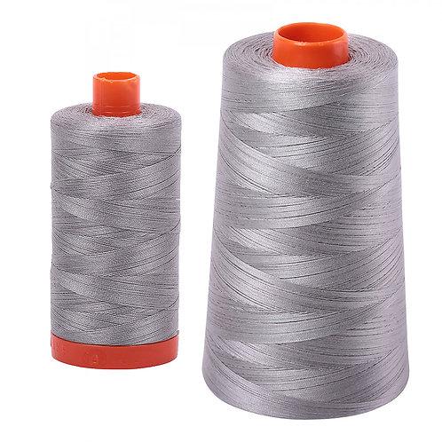 Aurifil Cotton Thread 50wt Stainless Steel 2620