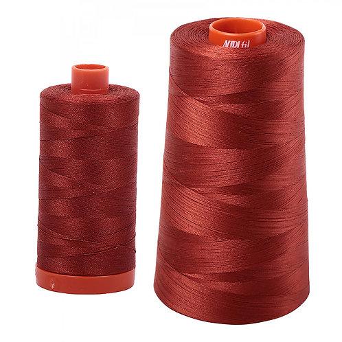 Aurifil Cotton Thread 50wt Terracotta 2385