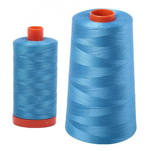 Aurifil Cotton Thread 50wt Bright Teal 1320